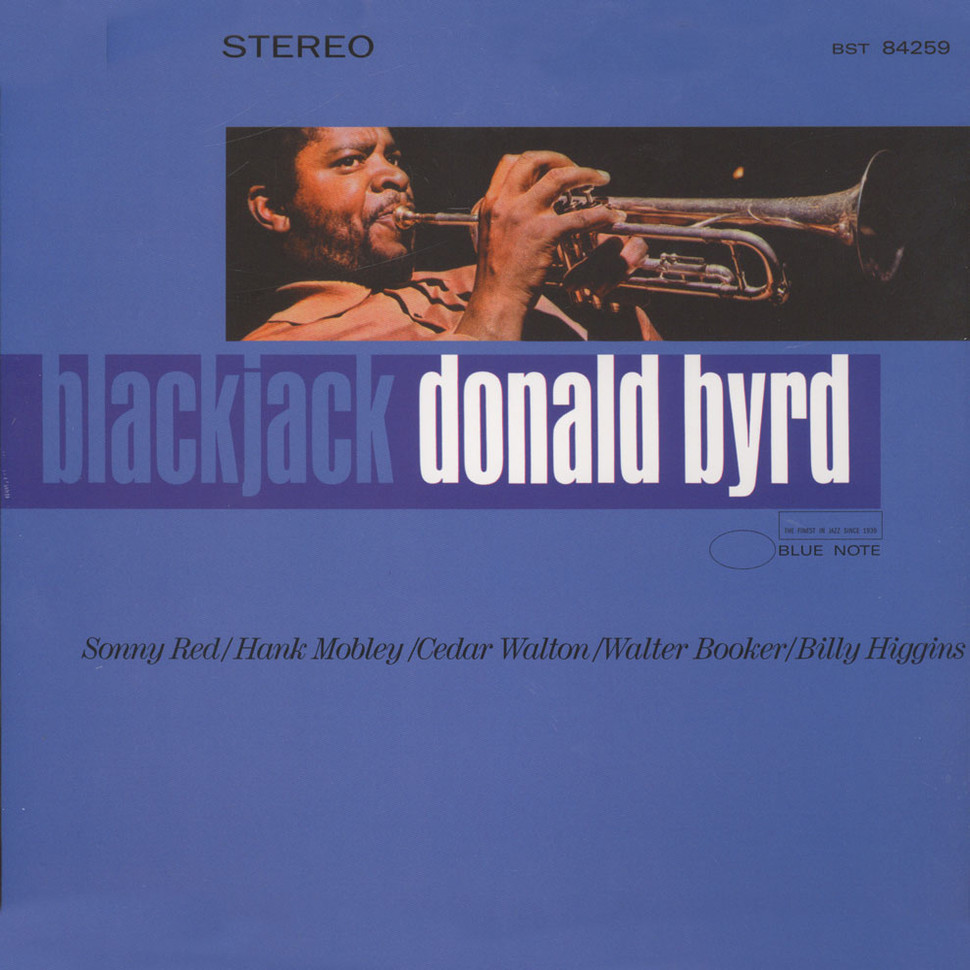 donald byrd - blackjack (album art)