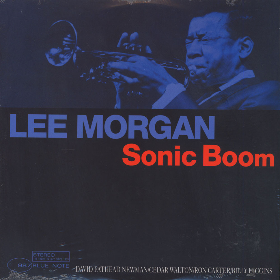 lee morgan - sonic boom (re-release album art)