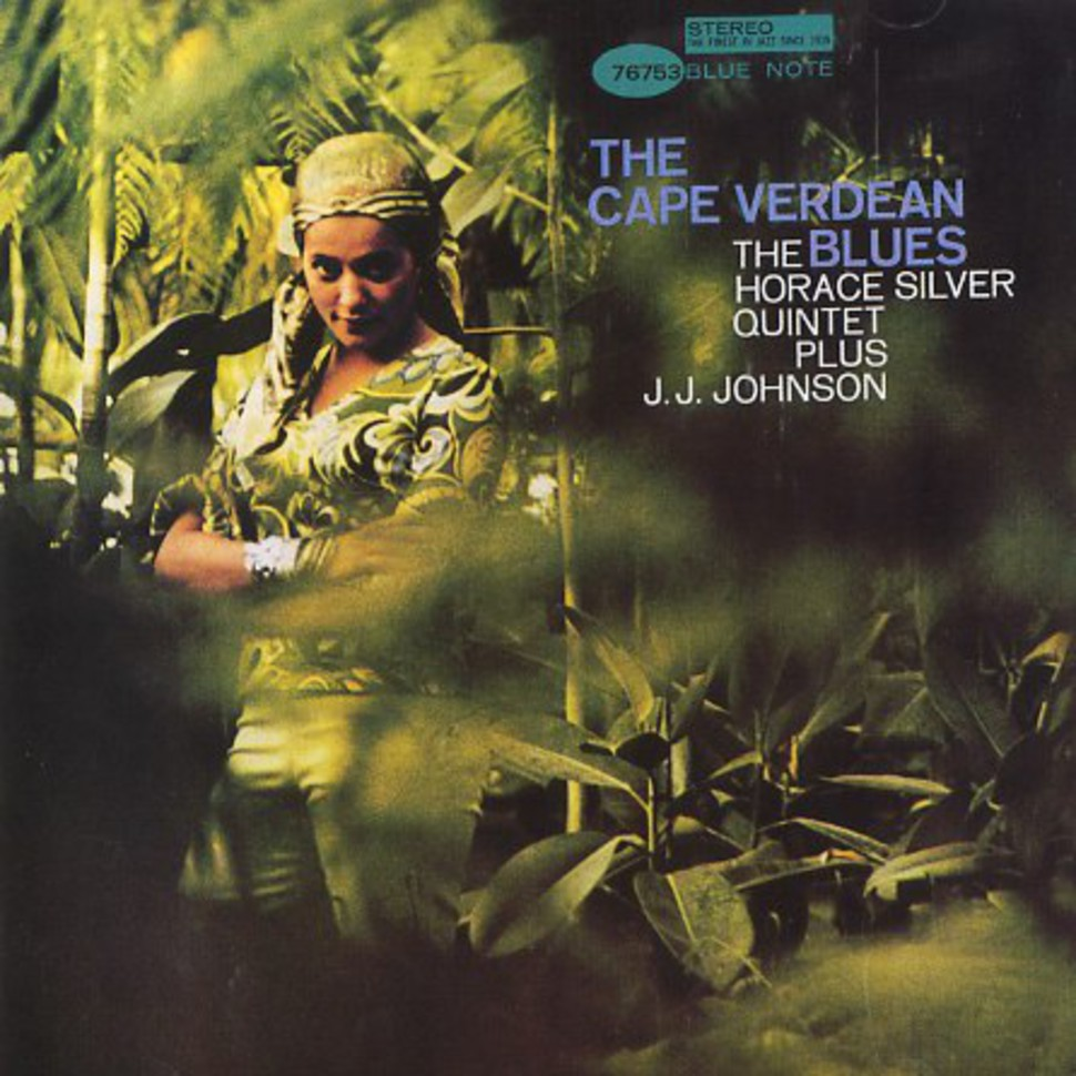 horace silver - the cape verdean blues (sleeve art)