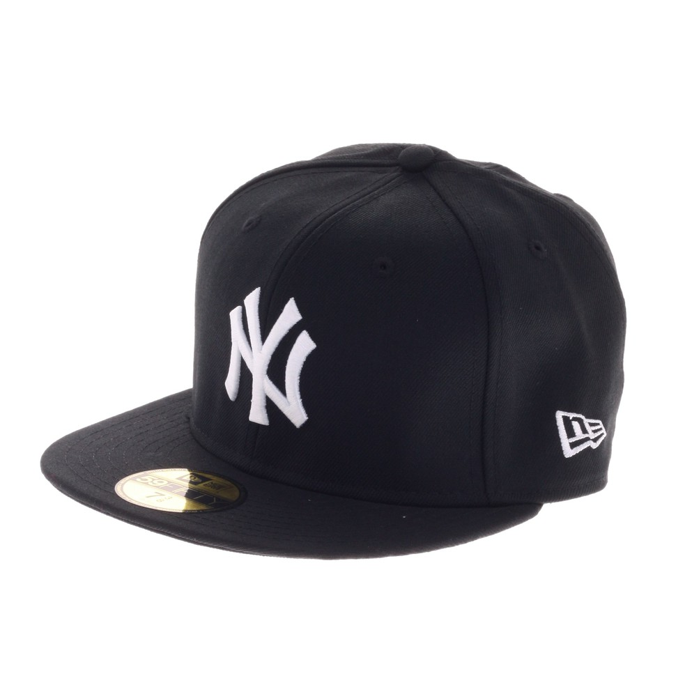 New-Era-New-York-Yankees-MLB-Basic-Cap-BLACK-WH