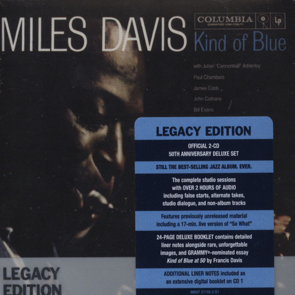 analysis of miles davis kind of blue I know that there are multiple versions of miles davis' kind of blue, there are the mfsl, the original mono and stereo lps, the 200 gram stereo.