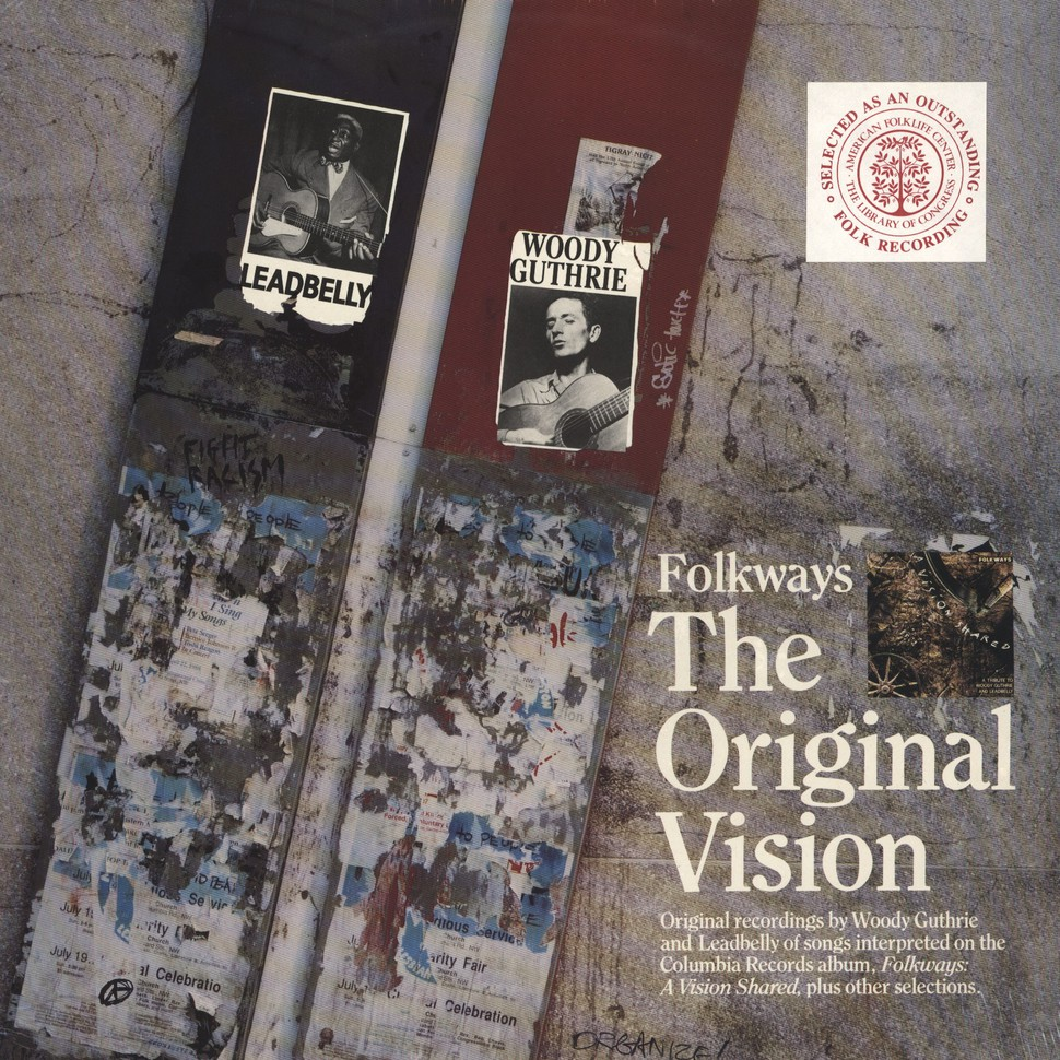 Folkways - The Original Vision - Woody Guthrie & Leadbelly