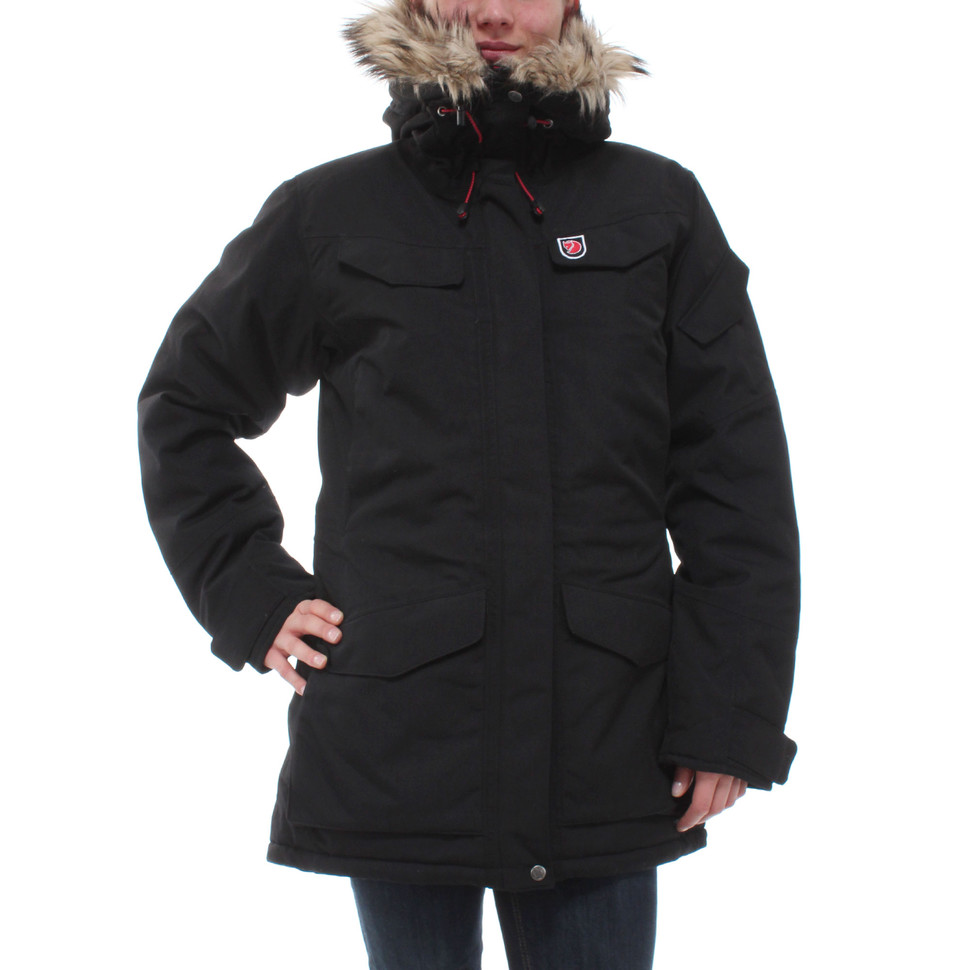 fj llr ven nuuk parka black down coats pictures to pin on