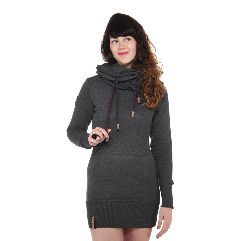 naketano rereorder ii hoodie anthracite melange kapuzenpullover hooded sweater ebay. Black Bedroom Furniture Sets. Home Design Ideas