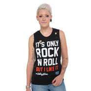 Rolling Stones, The - It's Only Rock and Roll Destroyed Women Tank Top