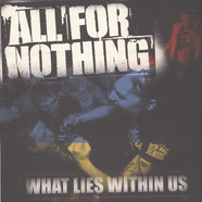 All For Nothing - What Lies Within Us Blue White Splatter Vinyl Edition