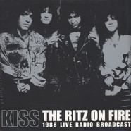 Kiss - The Ritz On Fire Red Vinyl Red Vinyl Edition