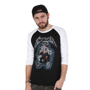 Metallica - Electric Chair Baseball LS Tee