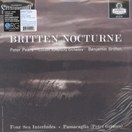 Benjamin Britten, Peter Pears, London Symphony Orchestra - Nocturne - Four Sea Interludes - Passacaglia (Peter Grimes)