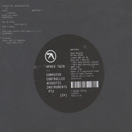 Aphex Twin - Computer Controlled Acoustic Instrumentals Pt2 EP