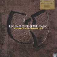 Wu-Tang Clan - Legend Of The Wu-Tang - Wu-Tang Clan's Greatest Hits Clear Vinyl Edition