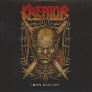 Kreator / Arch Enemy - Iron Destiny / Breaking The Law Black Vinyl Edition