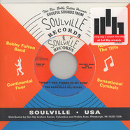 Soulville All Stars, The - Won't You Please Be My Girl