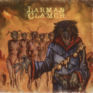 "Blackwolfgoat / Larman Clamor - Split 7"" Orange Vinyl Edition"