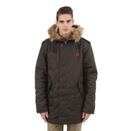 Fred Perry - Shearling Lined Wax Parka