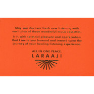 Laraaji - All In One Peace
