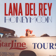 Lana Del Rey - Honeymoon Red Vinyl Edition
