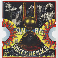 Sun Ra - Space Is The Place Clear Vinyl Edition