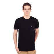 Fred Perry - Bomber Stripe Cuff T-Shirt