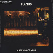 Placebo - Black Market Music Black Vinyl Edition