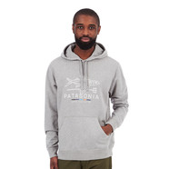 Patagonia - Geodesic Flying Fish Lightweight Hoodie