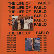 Kanye West - The Life Of Pablo Clear Vinyl Edition