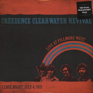 Creedence Clearwater Revival - Live At Fillmore West Close Night July 4, 1971 KSAN-FM 180g Vinyl Edition