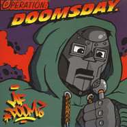 MF Doom - Operation: Doomsday Black & Red Vinyl Fondle Em Cover Edition