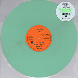 Afrika Bambaataa & The Soul Sonic Force - Planet Rock Glow In The Dark Vinyl Edition