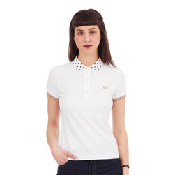 Fred Perry - Polka Dot Collar Pique Shirt