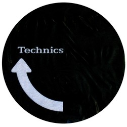 Technics - Arrow II Logo Slipmat