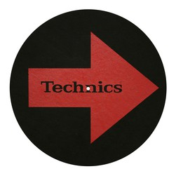 Technics - Arrows Left and Right Slipmat