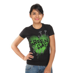 Green Day - Nail Heart Women T-Shirt