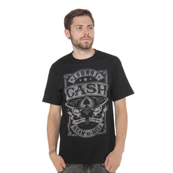 Johnny Cash - Mean As Hell T-Shirt