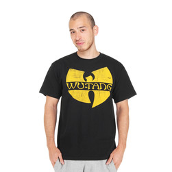 Wu-Tang Clan - Classic Distressed Yellow Logo T-Shirt