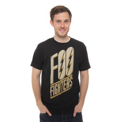Foo Fighters - Slanted Logo T-Shirt