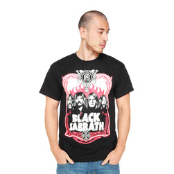 Black Sabbath - Red Flames T-Shirt