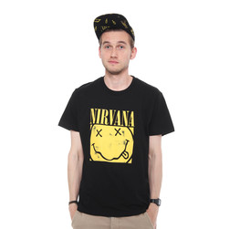 Nirvana - Box Smiley T-Shirt