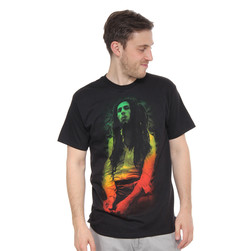 Bob Marley - Rasta Leaves T-Shirt