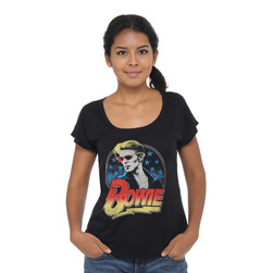 David Bowie - David Bowie Red Shades Photo Dolman Women T-Shirt