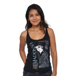 Madonna - Who's That Girl Tank Top
