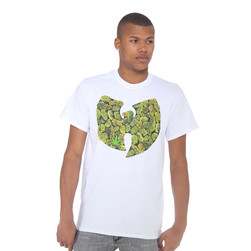 Wu-Tang Clan - Pot Leaf Logo T-Shirt