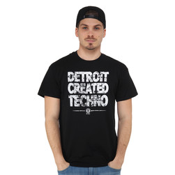 Dirt Tech Reck - Detroit Created Techno T-Shirt