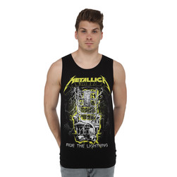 Metallica - Neon RTL Ride The Lightning Tank Top
