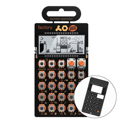 Teenage Engineering x Cheap Monday - Pocket Operator PO-16 Factory (Lead Synthesizer) + CA-16 Pro Case for PO-16 Bundle