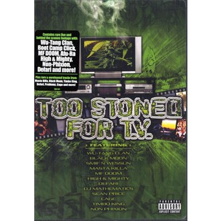 V.A. - Too stoned for TV DVD - DVD