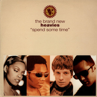 BRAND NEW HEAVIES, THE - Spend Some Time - 12 inch x 1