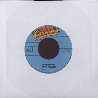 FATS DOMINO - Blueberry hill - 7inch x 1