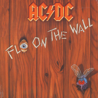 AC/DC - Fly on the wall - 33T