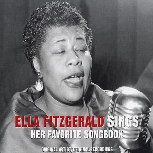 ELLA FITZGERALD - Sings her favorite songbook - CD